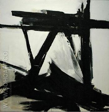 The Ballantine - Franz Kline reproduction oil painting