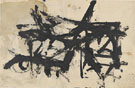 Untitled 1947 - Franz Kline