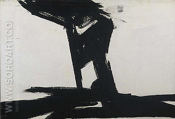 Untitled 1961 - Franz Kline reproduction oil painting