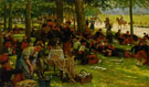 Jan Hoynck van Papendrecht Picnic after Parade 1906