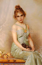 Vittorio Matteo Corcos The Wounded Puppy 1899