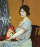 William Strang The Japanese Fan