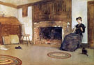 A Familiar Tune - Childe Hassam reproduction oil painting