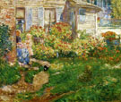 A Fishermans Cottage - Childe Hassam