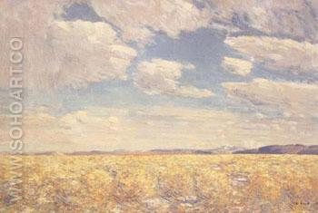 Afternoon Sky Harney Desert 1908 - Childe Hassam reproduction oil painting