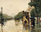 Material and Dimensions 1889 - Childe Hassam reproduction oil painting