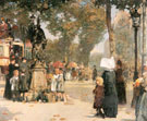 Paris Street Scene 1887 - Childe Hassam