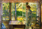 The Goldfish Window - Childe Hassam