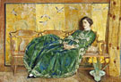 The Green Gown 1920 - Childe Hassam reproduction oil painting