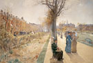 The Public Garden Boston Common c1885 - Childe Hassam
