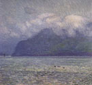The Silver Veil and The Golden Gate - Childe Hassam