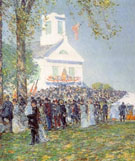 County Fair New England - Childe Hassam reproduction oil painting