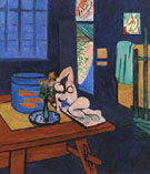 Studio with Goldfish 1912 - Matisse reproduction oil painting