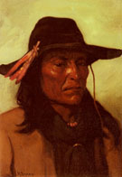 Chief Duck Man - Joseph Henry Sharp