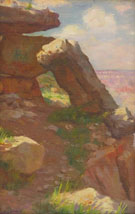 Grand Canyon Rocks - Joseph Henry Sharp