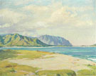Kailua Beach Beyond The Pali 1930 - Joseph Henry Sharp
