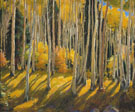 Morning in Aspen Grove - Joseph Henry Sharp