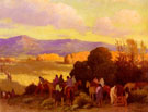 Rabbit Hunt Taos Valley - Joseph Henry Sharp