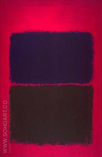 Untitled PG3 - Mark Rothko reproduction oil painting