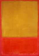 Mark Rothko Ochre and Red