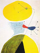 Portrait 1938 - Joan Miro