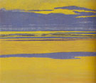 Leon Spilliaert Mauve and Yellow Seascape 1923