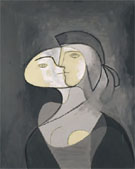 Marie-Therese  Face and Profile, 1831 - Pablo Picasso