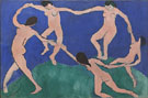 The Dance 1 1909 - Matisse