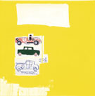 Dodge City Yellow - Jean-Michel-Basquiat