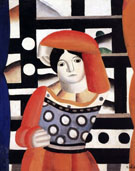 Woman in Front of a Landscape 1921 - Fernand Leger