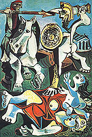 Pablo Picasso Rape of the Sabine Women  (1962)