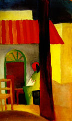 Turkish Cafe I (1914) - August Macke