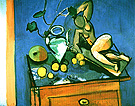 Terracotta Water Jug & Fruits 1915 - Matisse