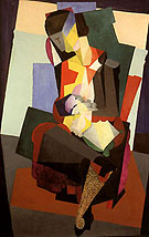 Diego Rivera Motherhood 1916