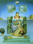Salvador Dali Madonna of Port Lligat 1949