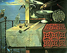 Salvador Dali Still Life Fast Moving 1956