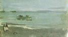 James McNeill Whistler Grey and Silver Mist Lifeboat 1884