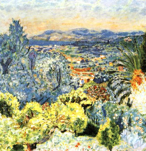 The Cote d'Azur 1923 - Pierre Bonnard reproduction oil painting