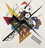 On White II 1923 - Wassily Kandinsky reproduction oil painting