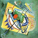 Red Oval 1920 - Wassily Kandinsky