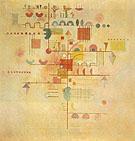 Tender Ascent 1934 - Wassily Kandinsky