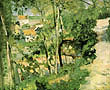 Climbing Path 1875 - Camille Pissarro reproduction oil painting