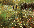 Summer Landscape 1873 - Pierre Auguste Renoir reproduction oil painting