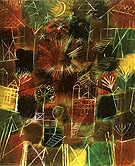 Cosmic Composition 1919 - Paul Klee reproduction oil painting