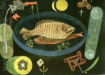 Around the Fish 1926 - Paul Klee reproduction oil painting