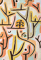 Park Near Lucerne 1938 - Paul Klee reproduction oil painting