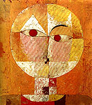 Senecio 1922 - Paul Klee reproduction oil painting
