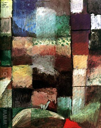 On a Motif from Hamamet 1914 - Paul Klee reproduction oil painting