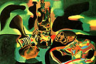 Still Life with Old Shoe 1937 - Joan Miro reproduction oil painting