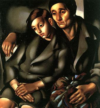 The Refugees 1937 - Tamara de Lempicka reproduction oil painting